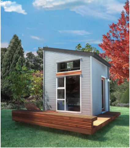Nomad Micro Home - Easily Assembled, Under $30K | Indiegogo