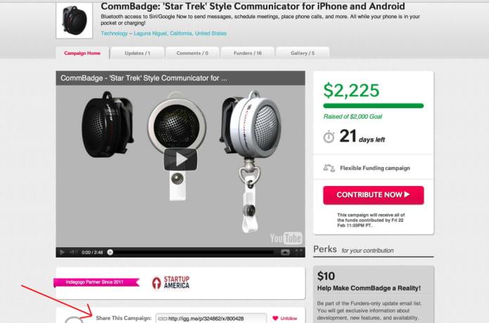 CommBadge: 'Star Trek' Inspired Communicator for iPhone