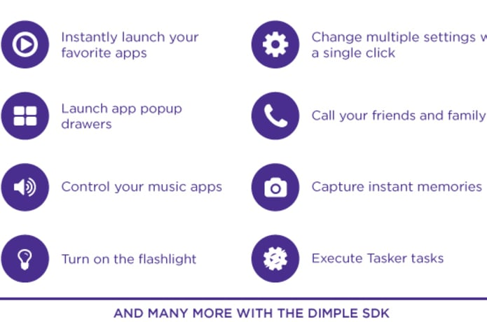 DIMPLE IO - Your own custom Android buttons!   Indiegogo