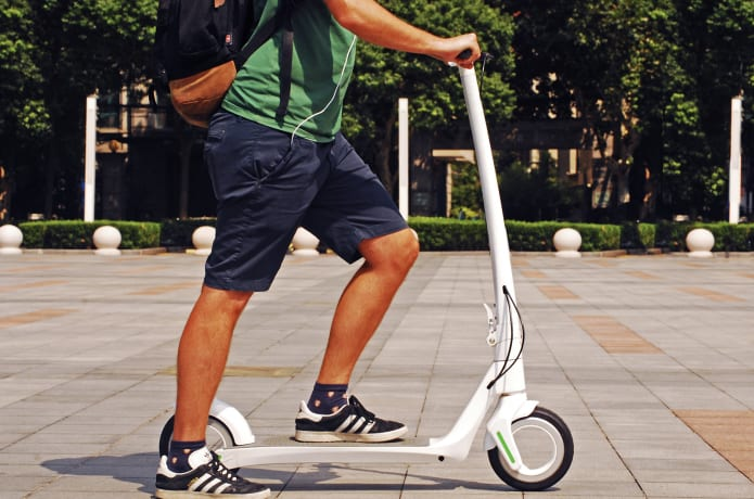 AKTIVO - World's first hubless electric scooter  | Indiegogo
