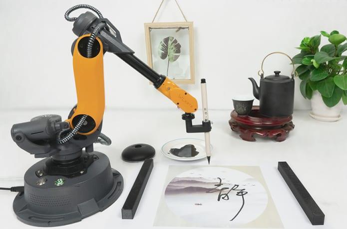 Mirobot, 6-axis Mini Industrial Robot Arm | Indiegogo