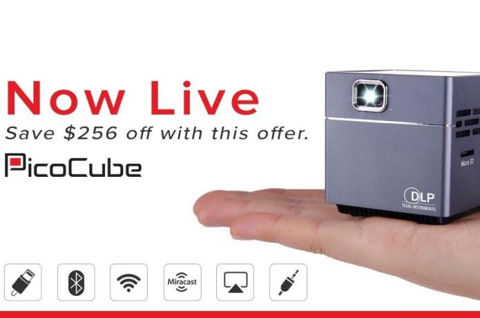 PicoCube: Palm-Sized Wireless Video Projector | Indiegogo