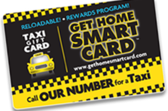 Get Home Smart Card - Taxi Gift Card | Indiegogo