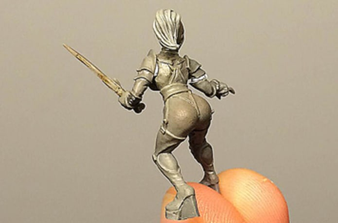 Dungeon Sisters miniatures | Indiegogo