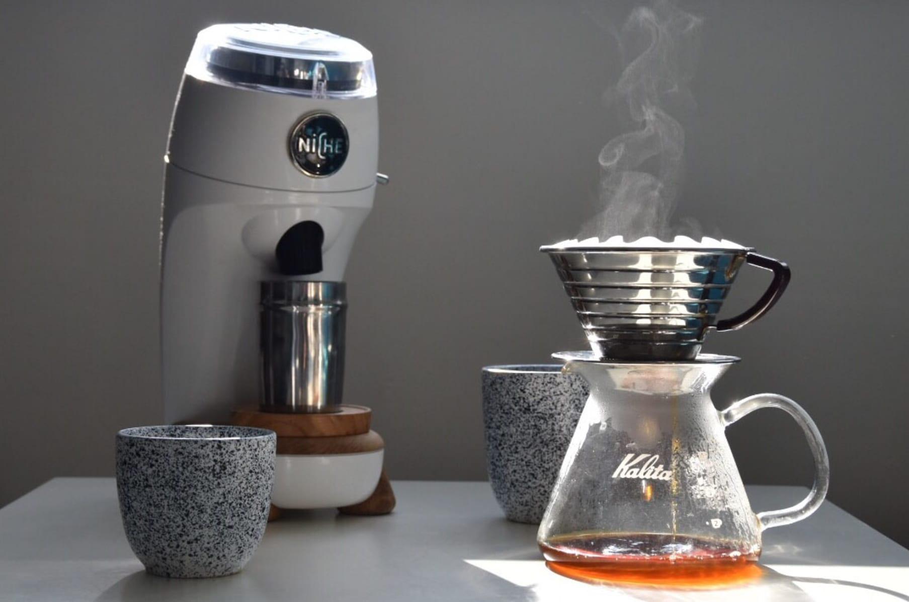 Niche Zero The Best Conical Burr Coffee Grinder Indiegogo