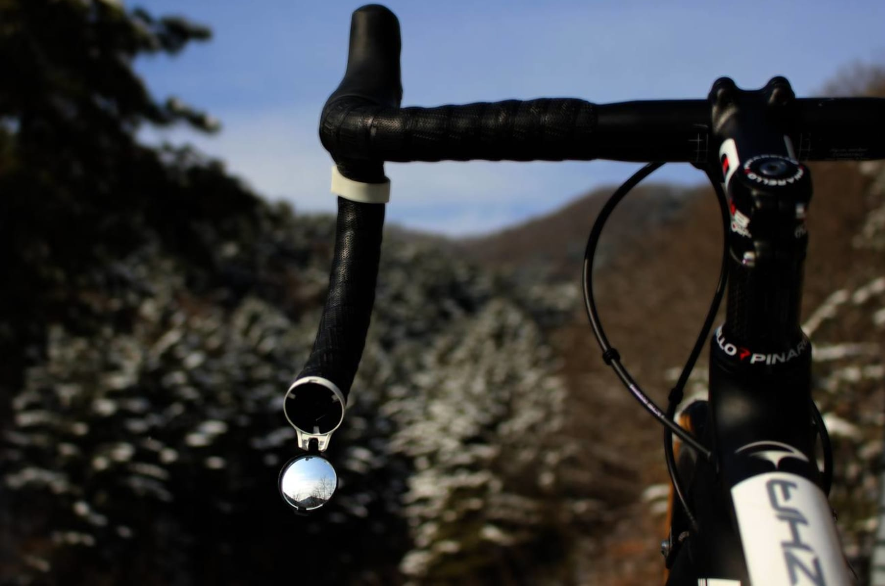 TheBeam Corky Bicycle Drop Bar Mirror