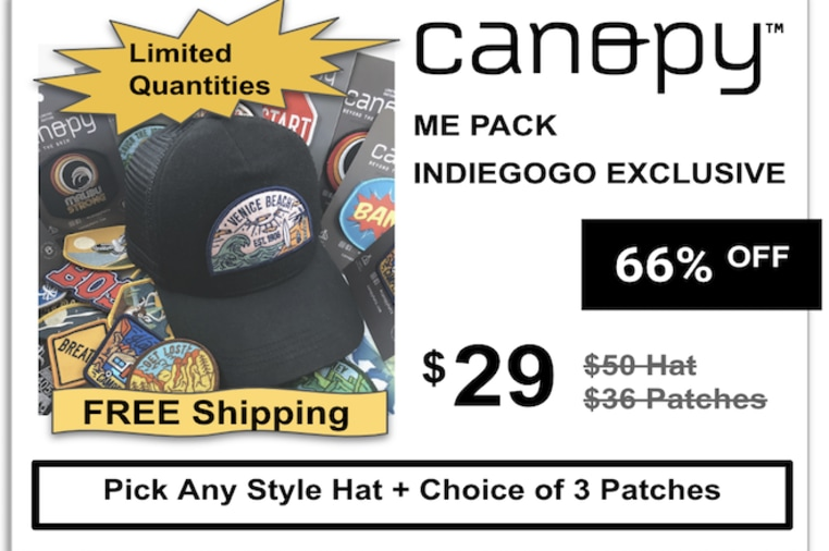 3878654cc2930 Canopy  Sustainable Hats   Interchangeable Patches