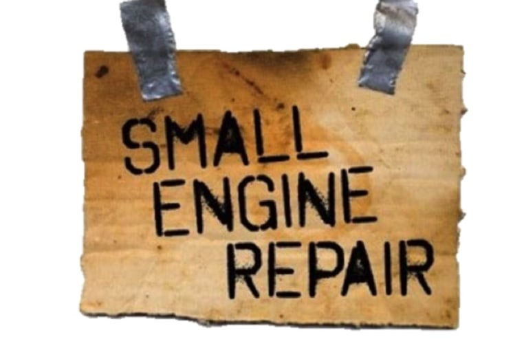 Small Engine Repair | Indiegogo