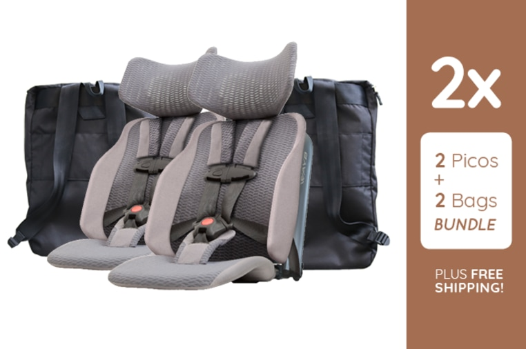 Meet Pico, the Travel Car Seat for Kids 2-5 Years | Indiegogo