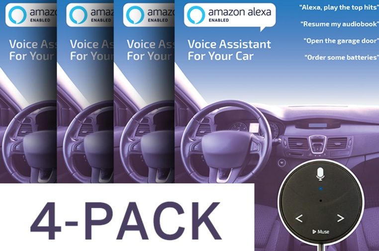 Muse Auto - Alexa Voice Assistant for Cars   Indiegogo