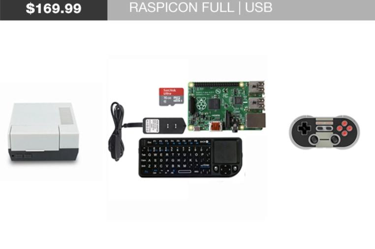 RASPICON - Retro-gaming Console for Raspberry Pi | Indiegogo