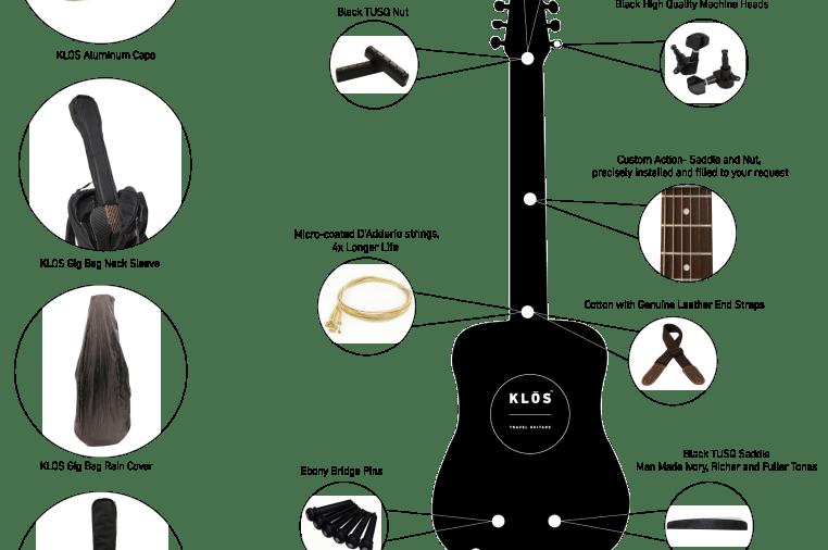 3ad2362a34a Carbon Fiber Acoustic-Electric Guitars - KLOS | Indiegogo