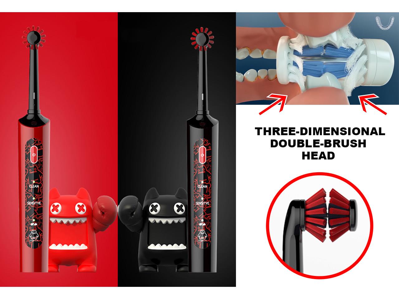 Представлена первая двойная зубная щетка Smart 3D