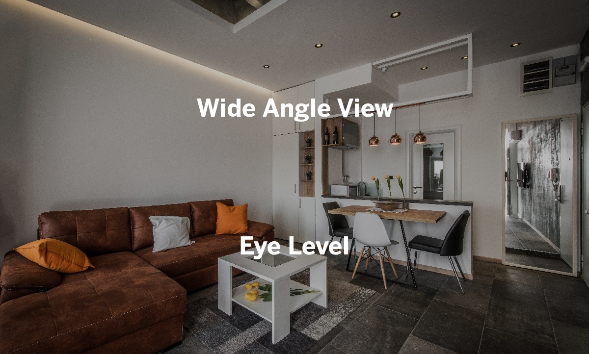 140° wide angle view at eye level and pre-recording with motion detection catch everything you need.